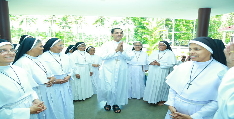 Final Profession , Auxilary Bishop , Mar Jose Puthenveetil