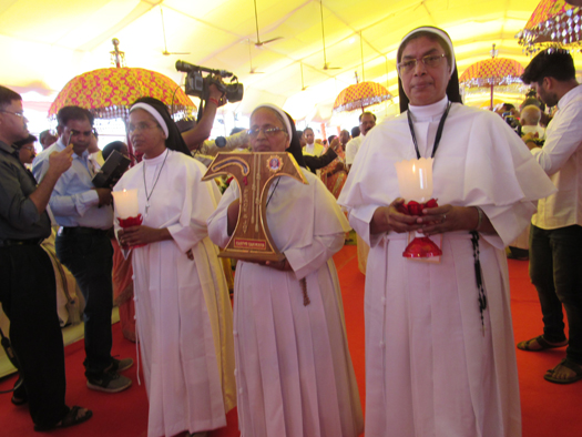 The relic of Blessed Martyr Rani Maria